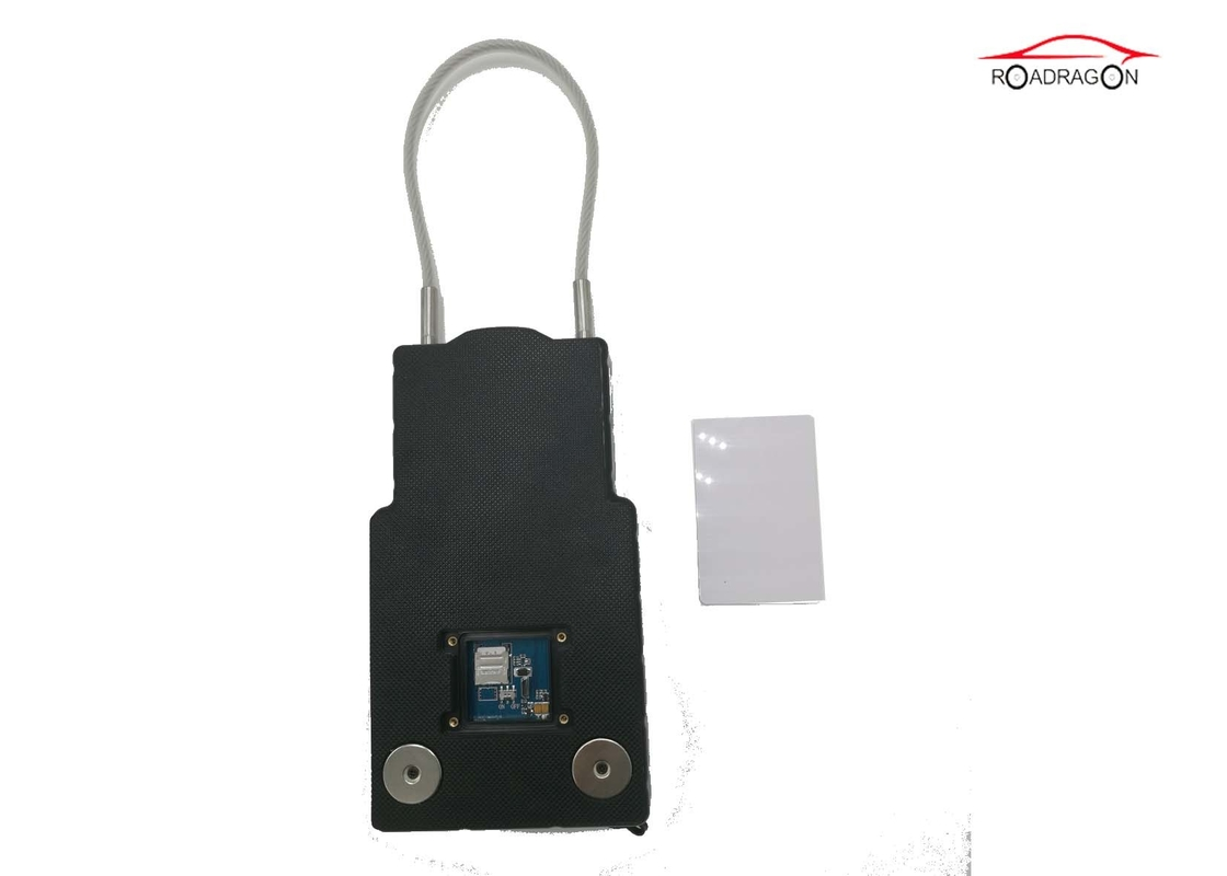 Realtime Track GPS Container Lock ,  Tamper Proof Alarm GSM Padlock Magnetic