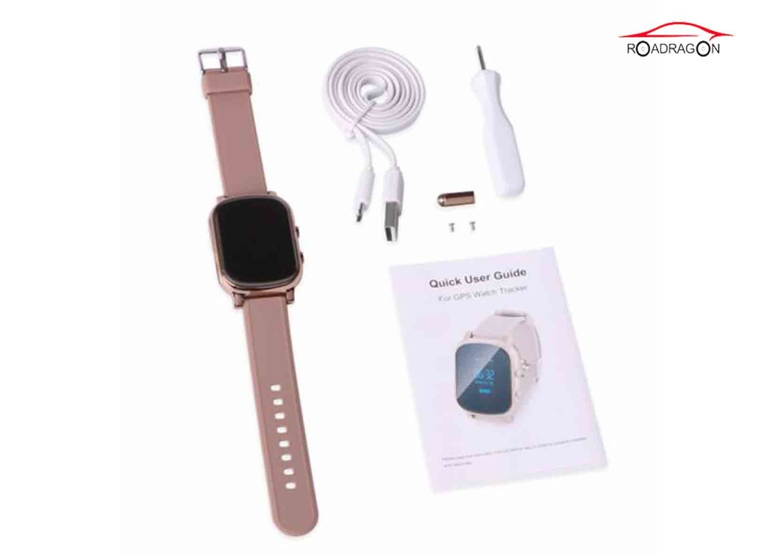 Security Area Alarm GPS Locator Watch Anti - Kidnapping With IOS / Android App