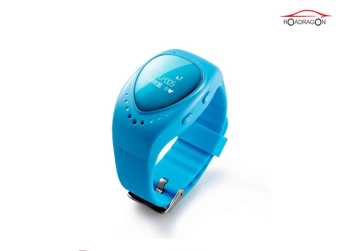Waterproof GPS Locator Watch , GSM Smart Kid Safe GPS Watch Long Time Battery